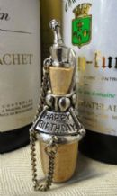 Pewter Birthday Wine Pourer and Stopper